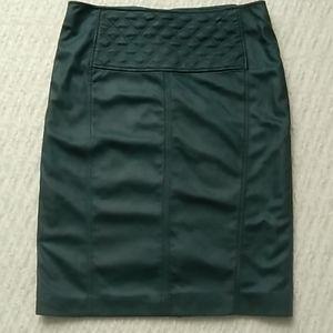Olsen Europe Faux Leather Pencil Skirt